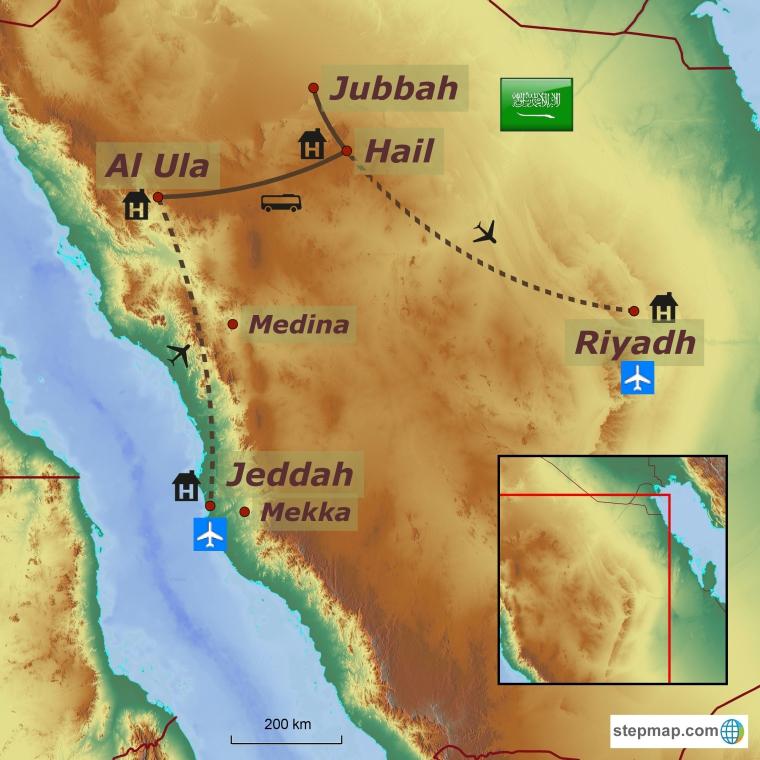 Saudi Araabia - keelatud kuningriik