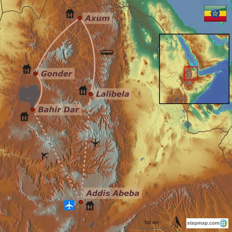 Etioopia - rännak Eedeni aias