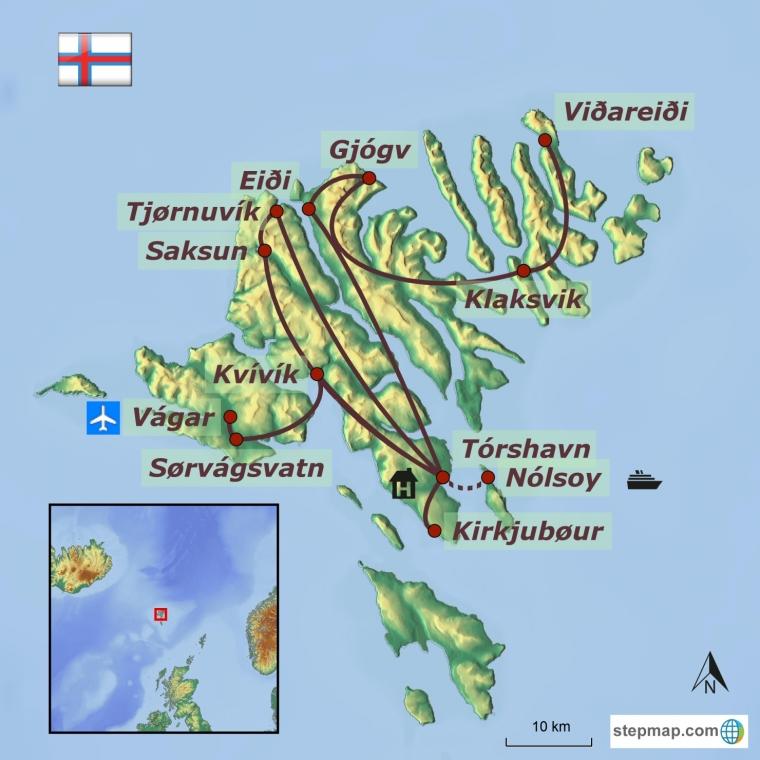 Fääri saared - eksootiline põhjala