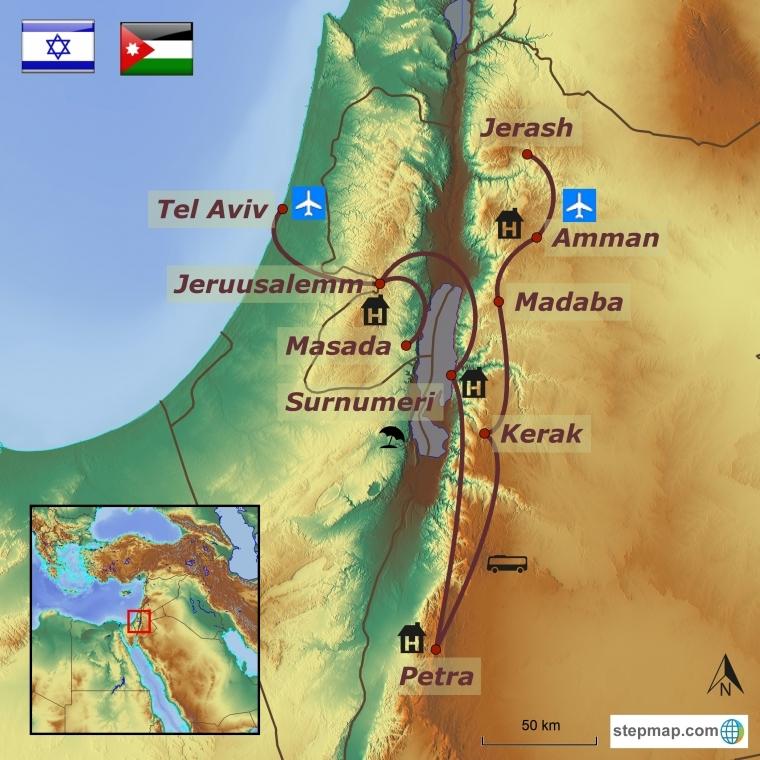 Iisrael - Jordaania