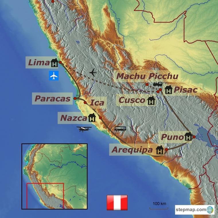 Peruu - inkade pärandus
