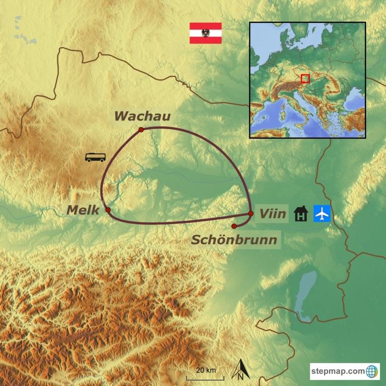 Austria - keiserlik pealinn Viin