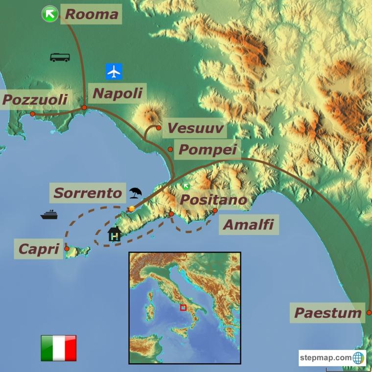 Itaalia - Lõuna-Itaalia pärlid