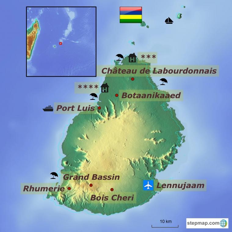 Mauritius - aastavahetus ilu ja harmoonia saarel