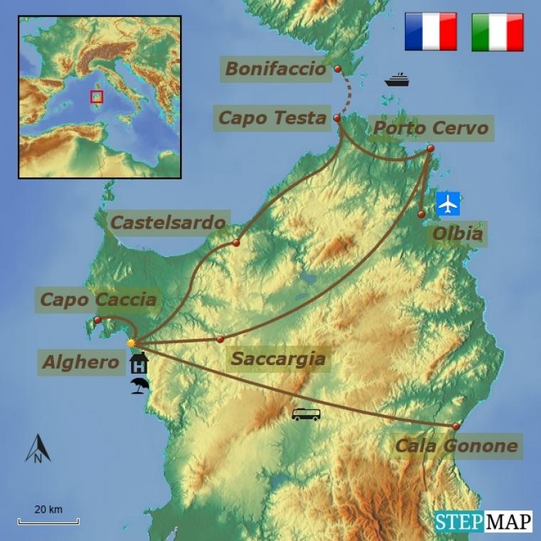 Itaalia - Sardiinia kultuuri- ja puhkusereis