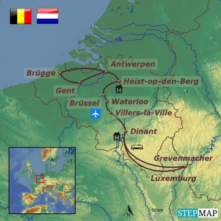 Belgia - Luxembourg