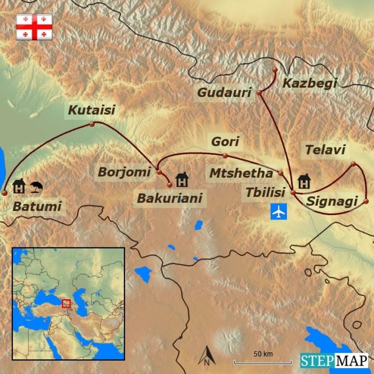 Gruusia - Iidne Sakartvelo