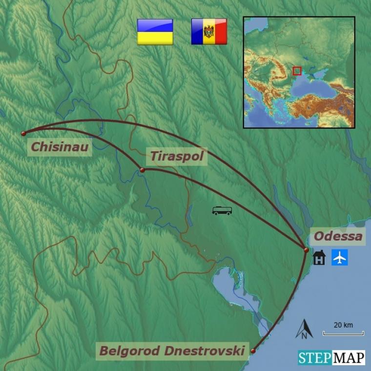 Ukraina - Odessa ja Moldova