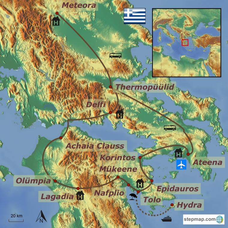Kreeka - klassikaline ringreis