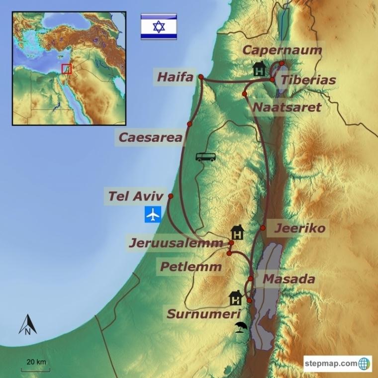 Iisrael - suur ringreis