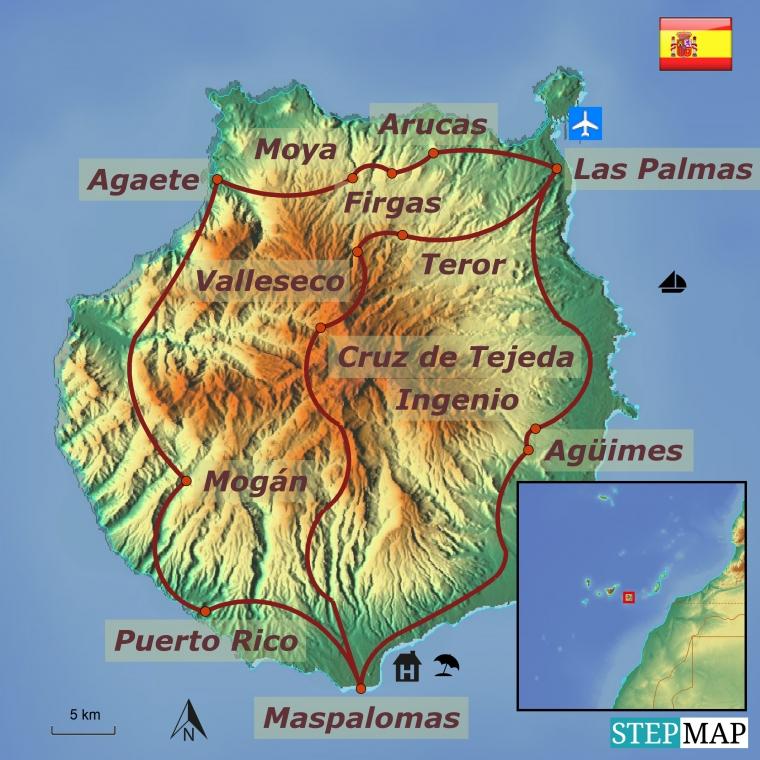 Hispaania - Gran Canaria kultuuri- ja puhkusereis