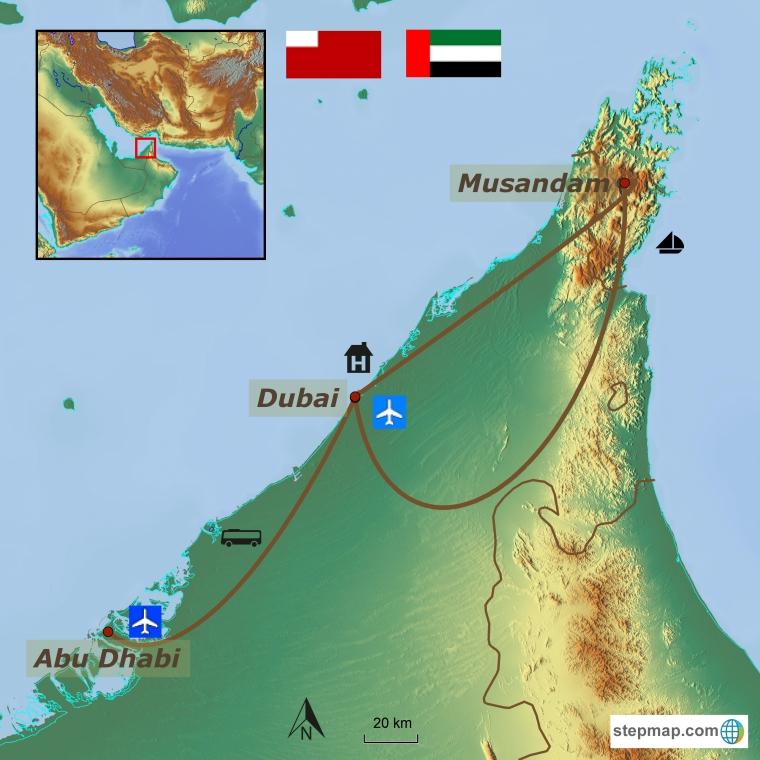 Dubai kultuuri- ja puhkusereis