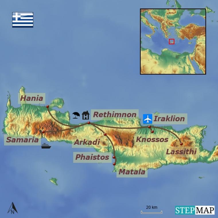 Kreeka - Kreeta kultuuri- ja puhkusereis