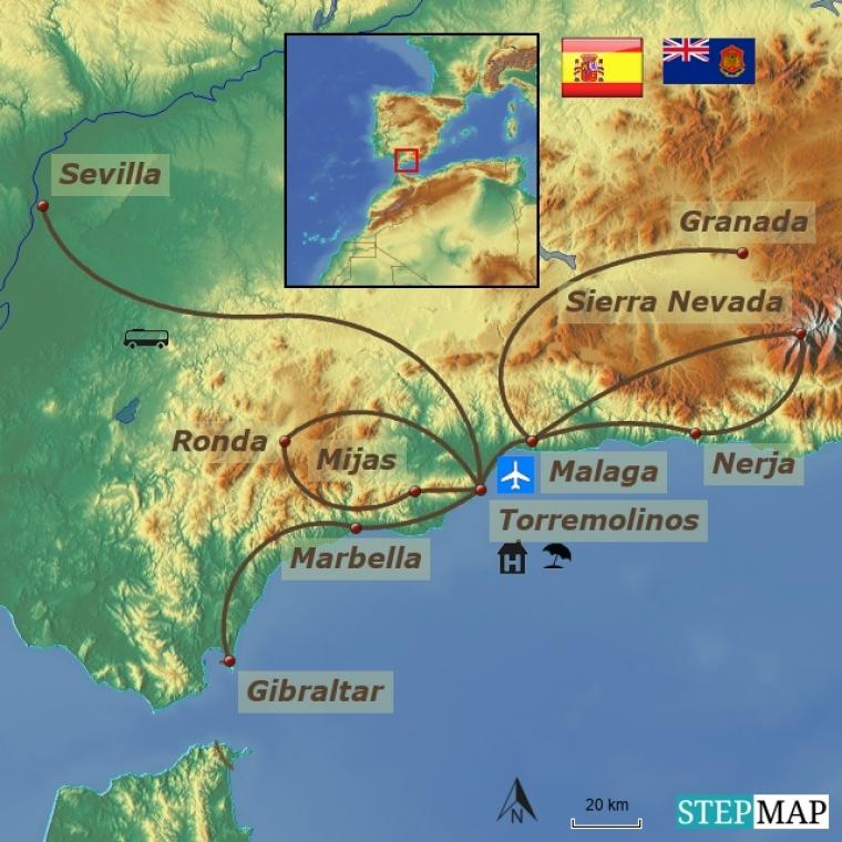 Hispaania kuum süda - Andaluusia
