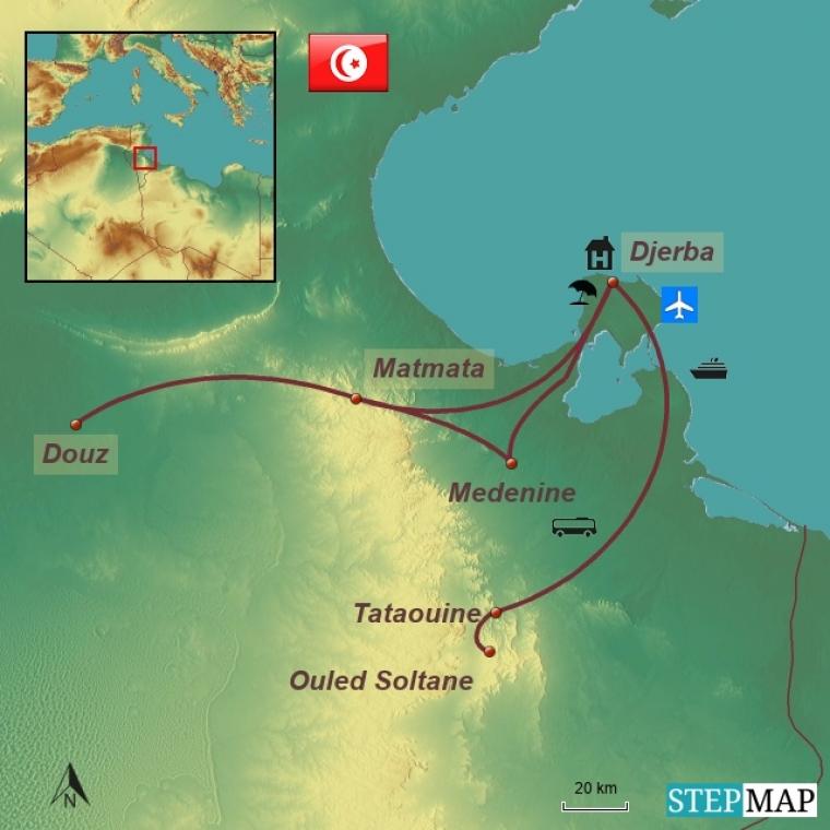 Tuneesia kultuuri- ja puhkusereis