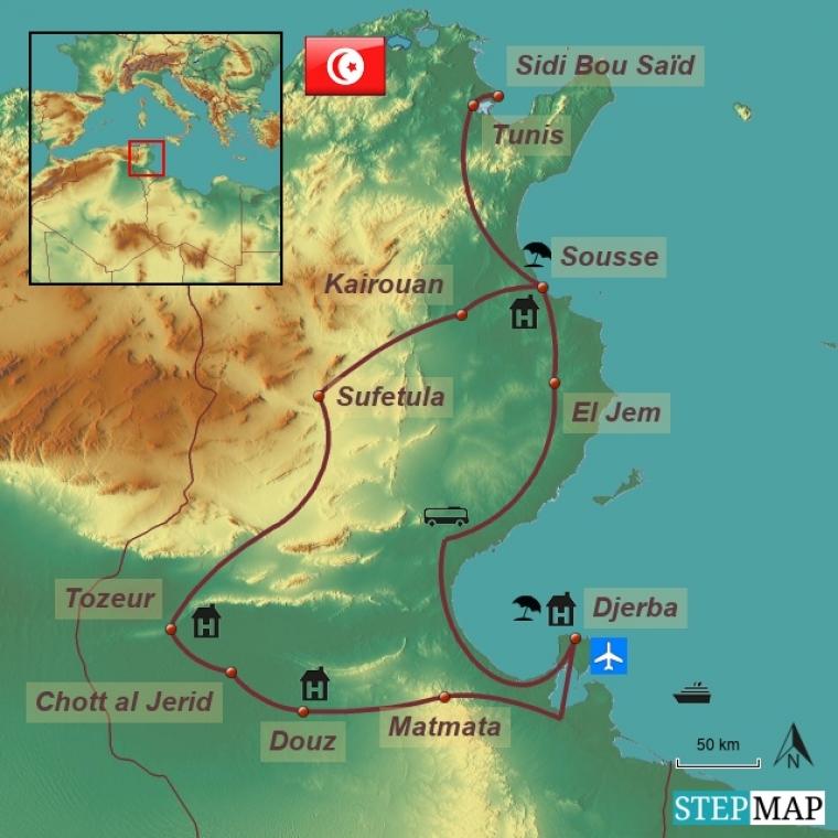 Tuneesia ringreis