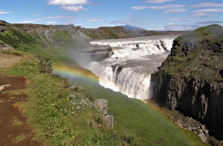 Island, 7/2010. Minu 1. reis Germaloga, foto: Valli Loide