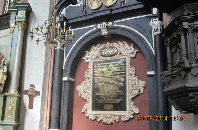 Toruni Katedraalis. Reis: Poola, ERM-Selts  Foto: Rein Olli