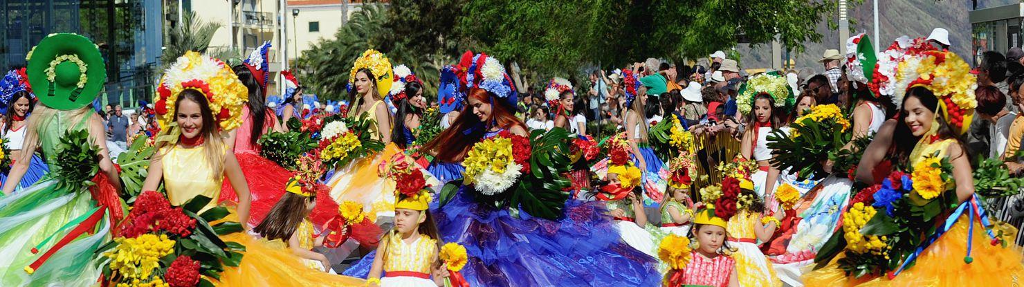 Portugal - Madeira kevadine lillefestival, grupp 1