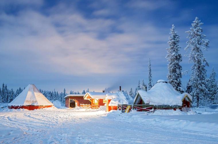 Soome - Lapimaale külla jõuluvanale