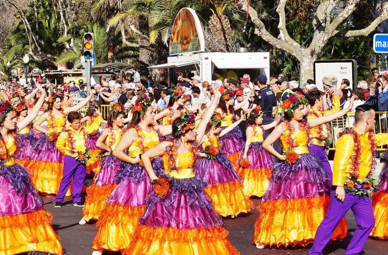 Portugal - Madeira kevadine lillefestival