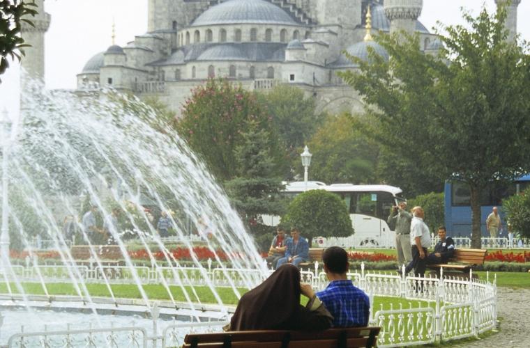 Türgi - Istanbul, linn maailma piiridel