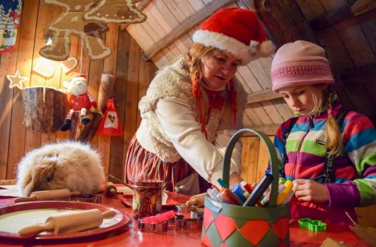 Eesti - Jõulureis - Maria talu ja Jõuluvana Korstna talu Pärnumaal