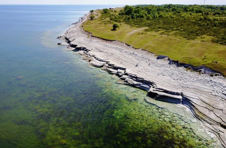 Eesti - Osmussaar ja killuke Skandinaaviat