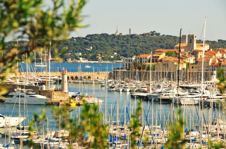Prantsuse Riviera - Taevasinine rannik